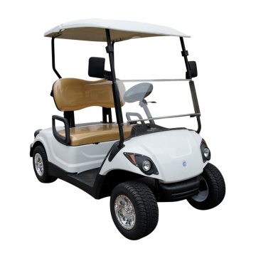 Sertifikasi CE 2 kursi ezgo golf club course Electric Golf Cart