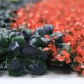 New ideas design DIY custom lovely 1*3M artificial hedge for wedding