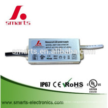 700mA 35w constant current led waterproof power supply for led downlight