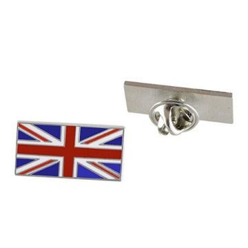 Britania Raya Flag Enamel Pins Made By Iron