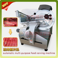 Table Model Frozen/Chilled Mutton Beef Meat Slicer Cutter Slicing Cutting Machine