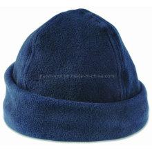 Blank Anti-Piling Fleece Winter Hat with Brim