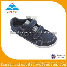 Leisure blue children canvas shoes