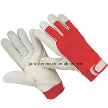 Promotional Pigskin Leather Mechanics Working Safe Hand Glove