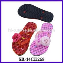 2014 latest ladies slipper designs fashion casual flip flop slipper