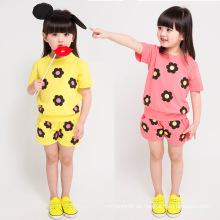 Großhandelsmädchen-Kleidungs-hohe Qualität reizende Mädchen-Klagen für Sommer