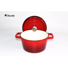2017 Colorful Cast Iron Cooking Pot