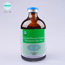 Venta caliente Medicamentos veterinarios Dexametasona Inyección de fosfato de sodio