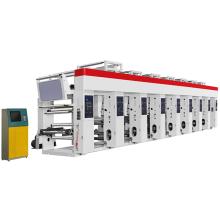 Máquina de impressão em rotogravura de 8 cores de alto desempenho