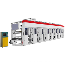 Hochleistungs-Rotationstiefdruckmaschine mit 8 Farben