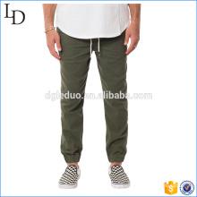 Pantalones de vestir de sarga elástica para hombres Pantalones de deporte y pantalones de algodón forrados