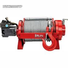 Treuil industriel hydraulique 20000lbs pour dépanneuse