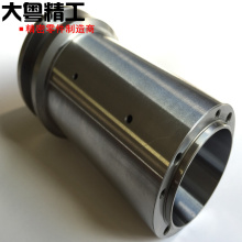 OEM precision components hardened steel shaft and sleeve