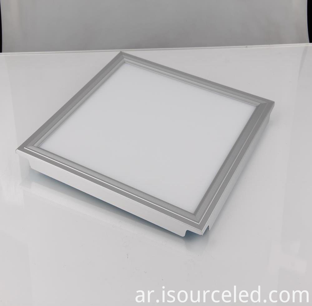 1x1 led flat panel surface mount for market