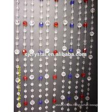 Pujiang Factory Direct Preis hängenden Tür Kristall Perlen Vorhang