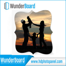 HD Aluminum Photo Panel for Art Works Creative Border Customized Size