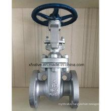 150lb Carbon Steel Wcb Flange End Hand Wheel Gate Valve