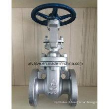 Válvula de porta da roda da mão da extremidade da flange do Wcb do aço carbono 150lb