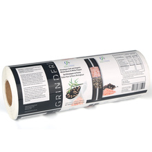 Speziell bedruckte Lebensmitteletiketten für Sandwichverpackungen