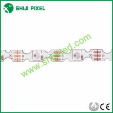 48 LEDs / m DC5V S forma rgb 5 v sk6812 emissor de led led flexível rgb tira conduzida