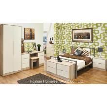 6 Piece Painting Bedroom Wardrobe Dresser Furniture Set (HH31)