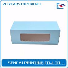 Sencai conception personnalisée Cake emballage boîte de papier