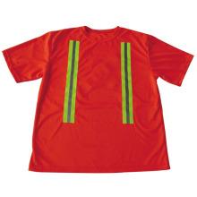 Hoch sichtbares Sicherheits-T-Shirt