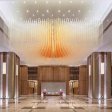 Guzhen manufacturers glass design Chandeliers led pendant light chandelier ceiling light
