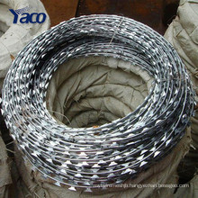 Anping factory hot dipped razor barbed wire mesh price for sale wholesale