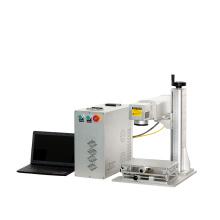 Machine portative de marquage laser de fibre de table basse en métal 50W