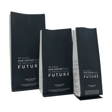 Percetakan Penyesuaian Flat Bottom 12Oz Coffee Bag