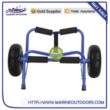 Aluminum trailer, Folding aluminum kayak cart, Aluminum beach canoe carrier