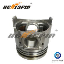 for Mitsubishi 4D35 Engine Piston with Alfin Me018825 for One Year Warranty