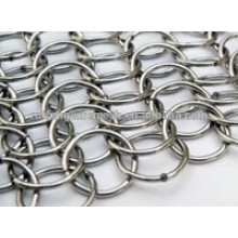 Decorative Stainless Steel Chainmail Ring Metal Mesh Curtains