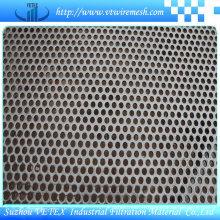 Feuille de maillage de trous de poinçonnage en acier inoxydable à réduction de bruit