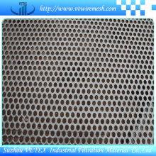 Folha de malha de perfuração de aço inoxidável de redução de ruído