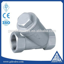 stainless steel y type thread filter