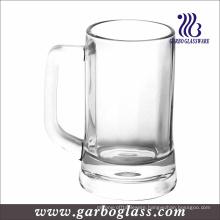 Glass Beer Mug with Handle