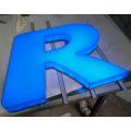 LED-Front beleuchtete Acrylkanal-Buchstabe-Zeichen für Geschäft