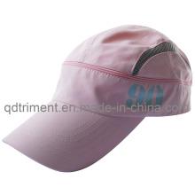 Soft cómodo de poliéster de microfibra de deporte de tela Racing Cap (TRRC004)