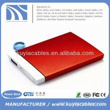 Batterie externe externe portable 5000mAh Power Bank pour iphone Sansumg 5000mAh