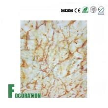 Painel de parede de chuveiro de superfície de textura de mármore
