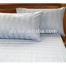 Hospital use 2cm white stripe stain fabric