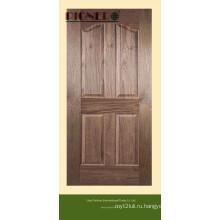 Черный орех Отлитый в форму кожи двери МДФ