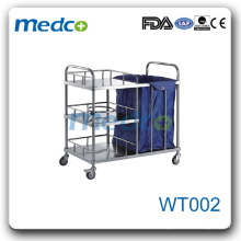 WT002 Hospital dustbin trolley