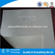 Paño filtrante impermeable de alta permeabilidad al aire Dacron