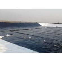 Geomembrana 100% Virgen HDPE de 1.5 mm para eliminación de aguas residuales