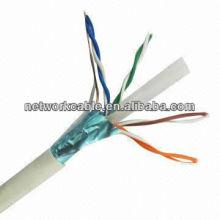 Cat 6 FTP Data Cable, 305m 0,5 mm CCA, PVC Jack, CE-aprovado