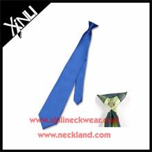 Venta al por mayor Polyester Cheap Neck Clip Tie