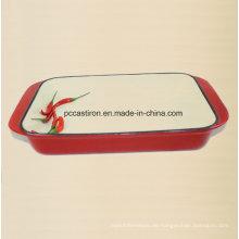 Emaille Gusseisen Platter Hersteller aus China